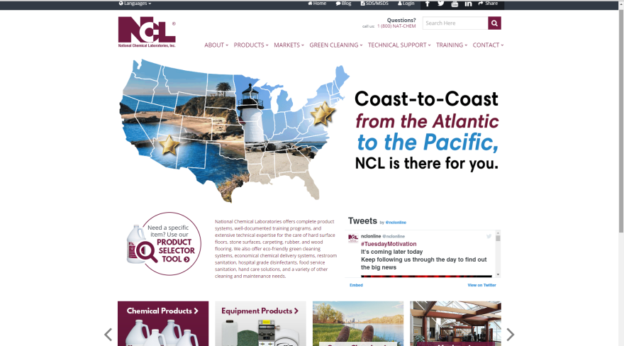 Coast To Coast homepage