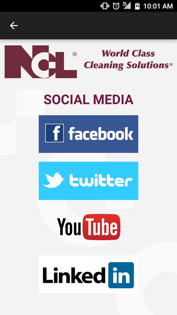 Links to NCL Social Media