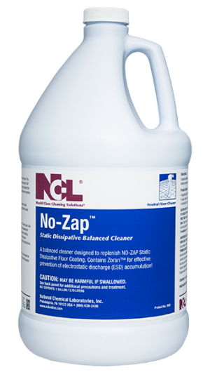 national chemical laboratories inc no zap static On zap wood floor cleaner