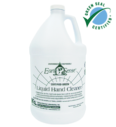 Earth Sense® - Earth Sense® Certified Green Liquid Hand Cleaner;